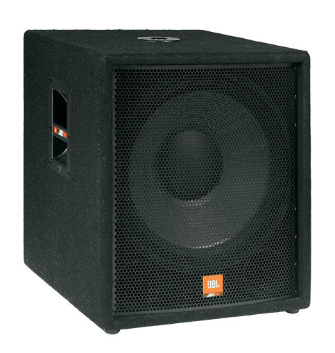 This is what makes people dance!!!   The JBL JRX118SP is A 300-watt (continuous, 500W peak) Powered Sub