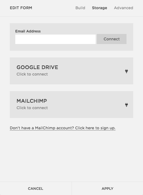 use google drive for wedding website