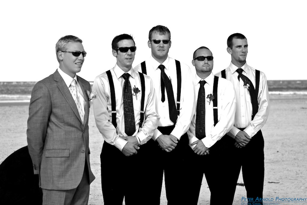 The Groomsmen, New Smyrna Beach Wedding Photographer