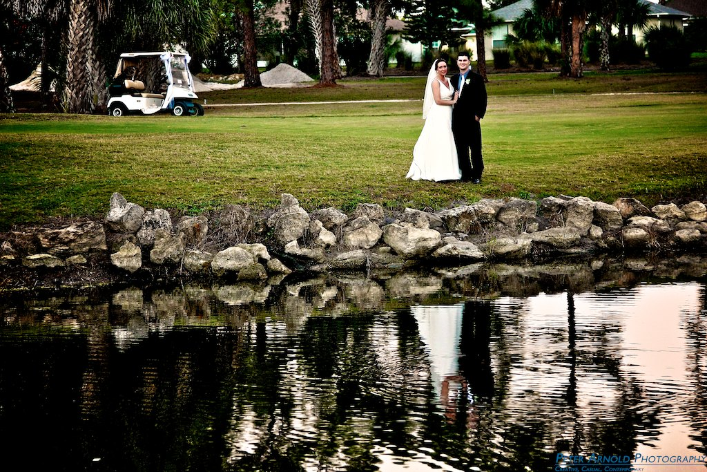 New Smyrna Beach Wedding Photographer at Hidden Lakes Golf Course in New Smyrna Beach, FL
