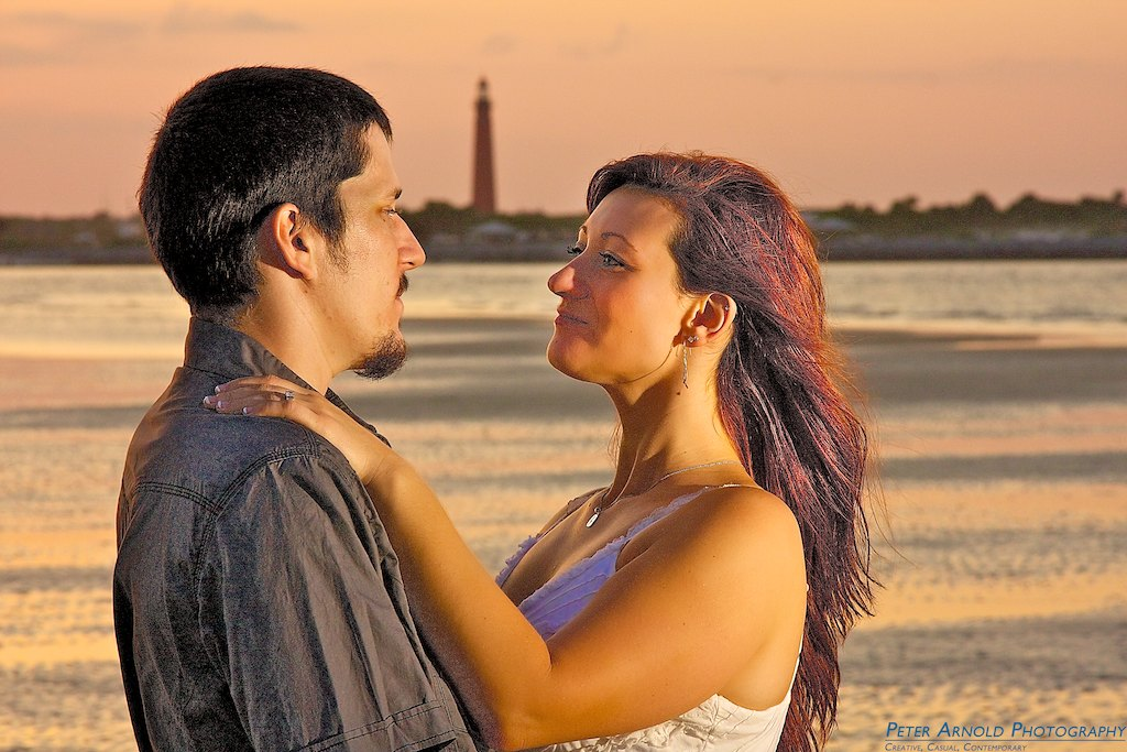 Engagement photo session in New Smyrna Beach,  Wedding, Couple, Beach,