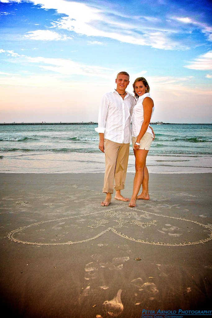 New Smyrna Beach, FL Engagement Photographer