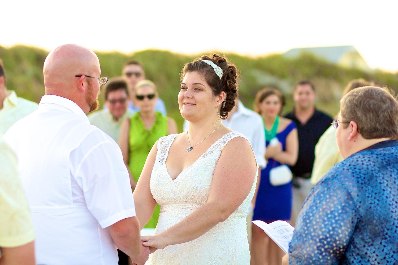 New Smyrna Beach Wedding Bride and Groom