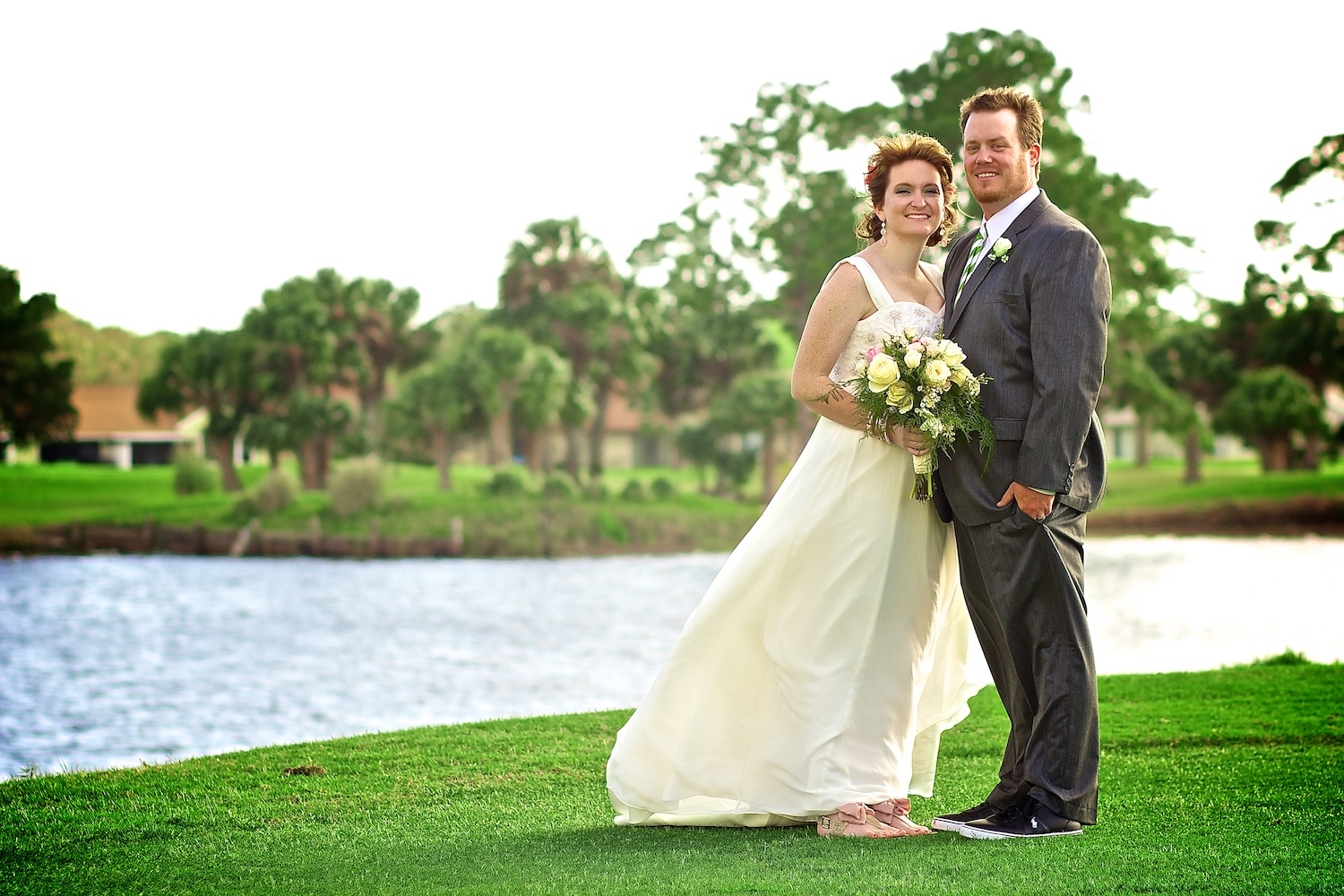 FL Bride and groom portrait photography