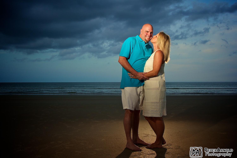 Family Portrait in Daytona Beach, FL