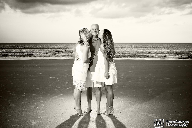 Family Portrait Photo in Daytona Beach