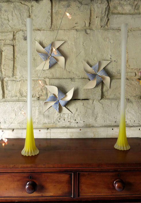 ceramic windmills