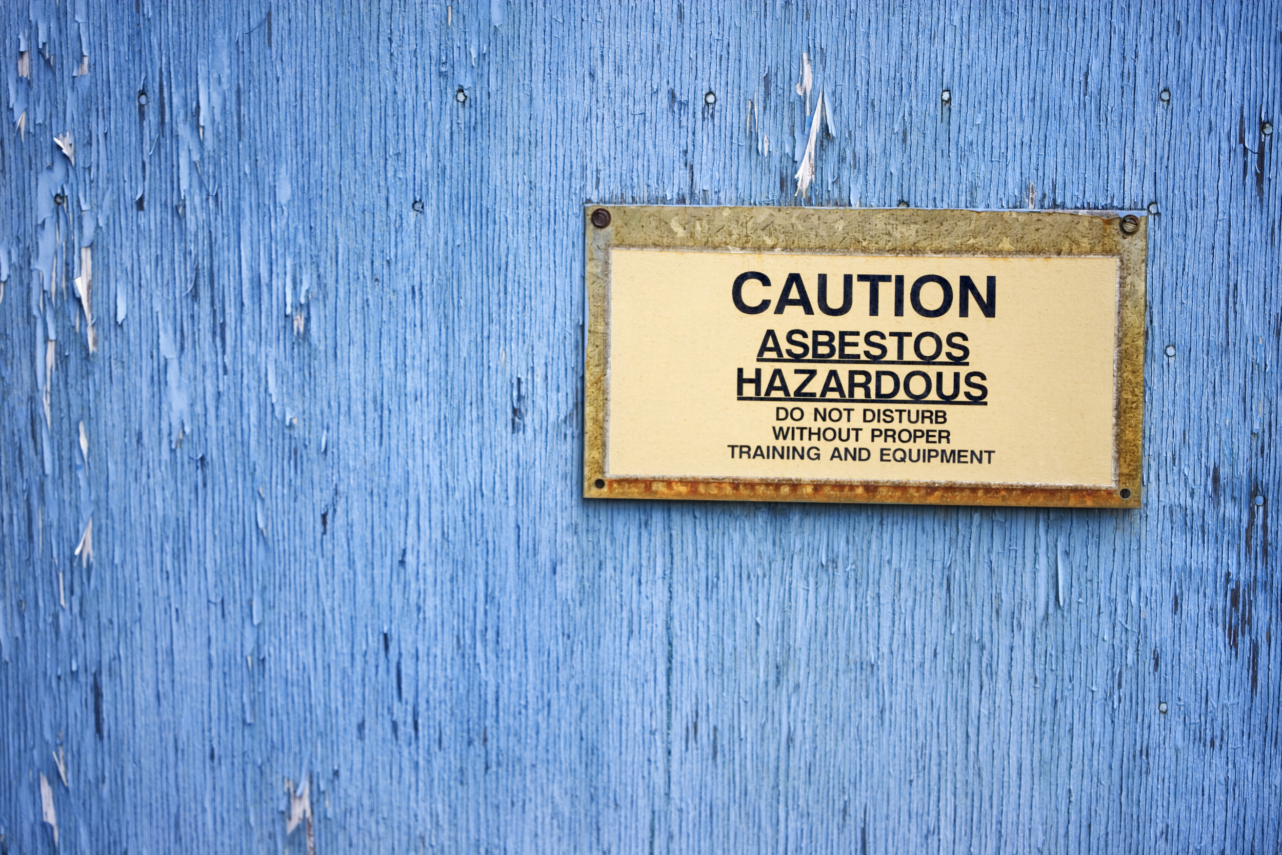 Nearly 100,000 people die every day of an asbestos-related condition.