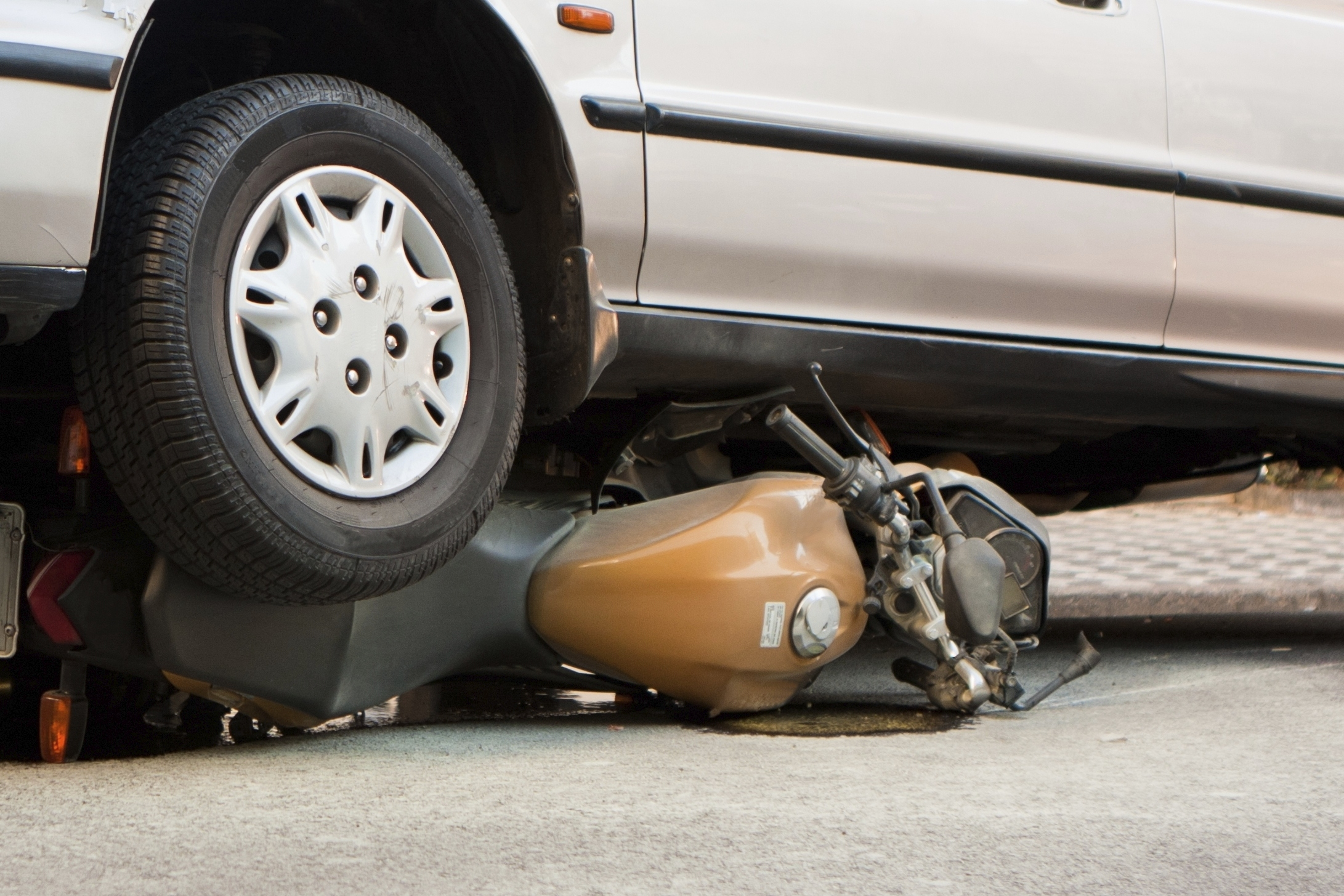 Every year around 100,000 people will be INJURED in motorcycle accidents.