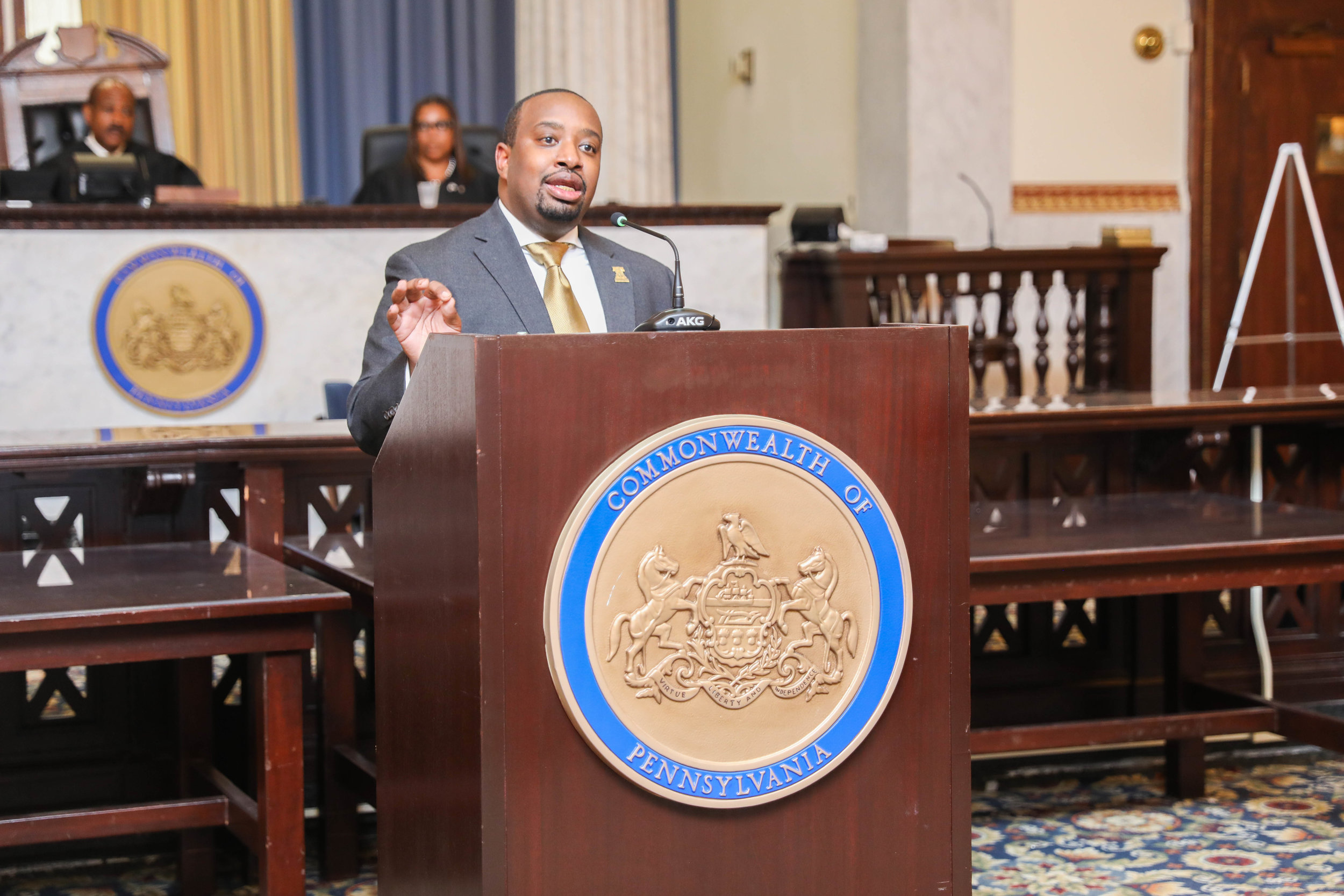 Charles Gibbs at Phila Barristers' Presidential Inauguration