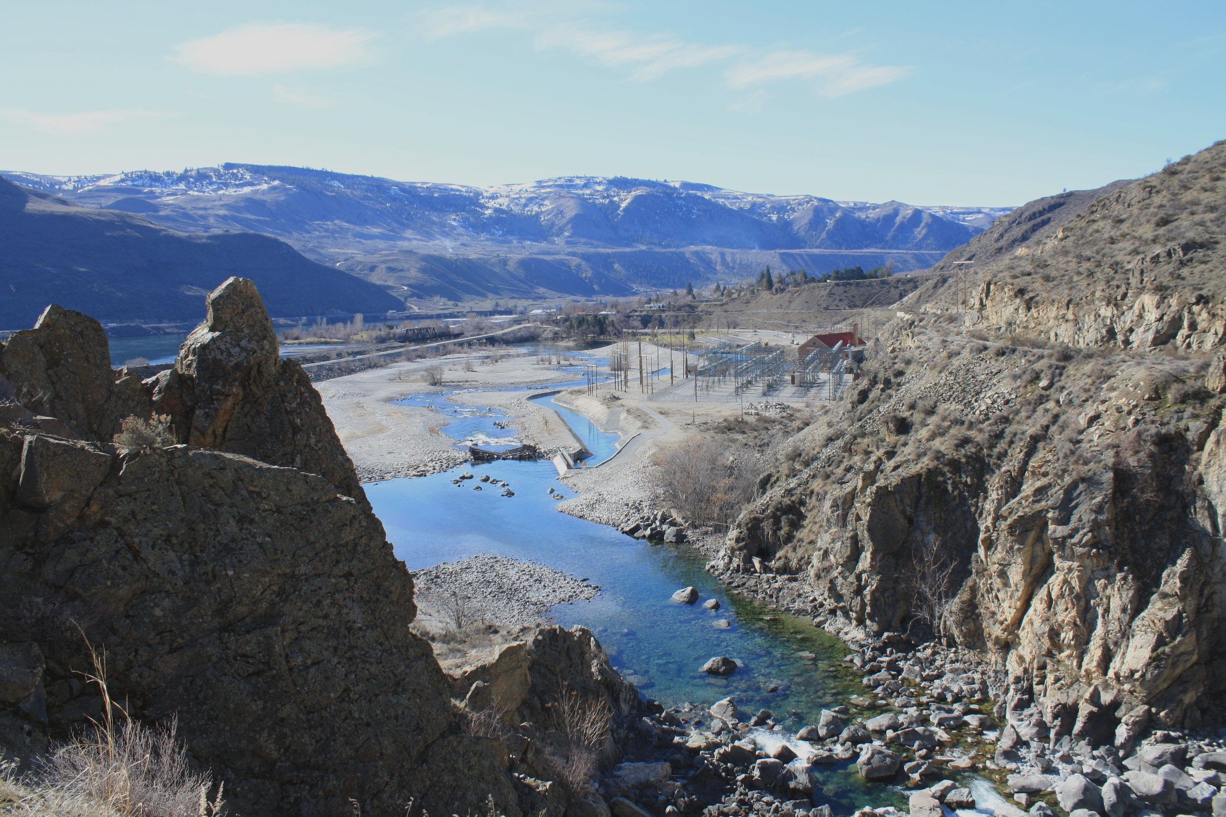 Reach 4 of the Chelan River