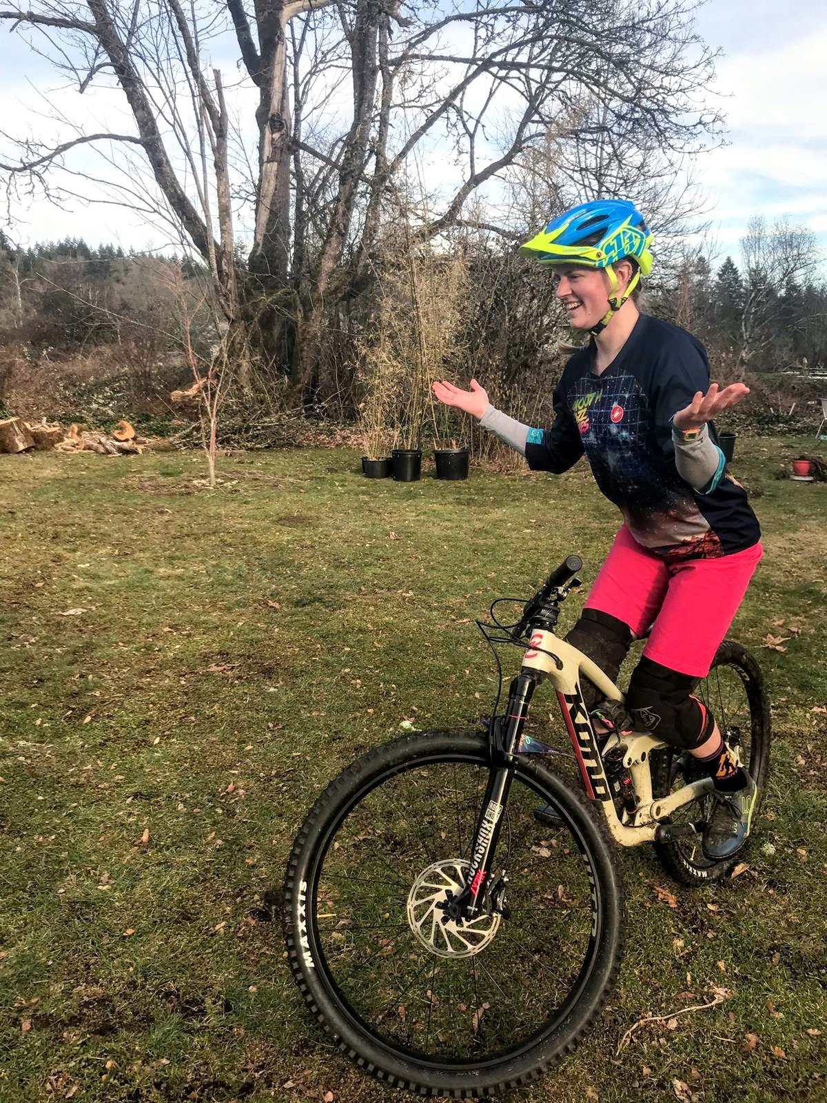 """Balancing bike racing with my career is always a challenge, and requires that I am super organized and efficient with my time, but somehow I figure out how to make it work."" –   Delia Massey, EIT, Project Engineer"