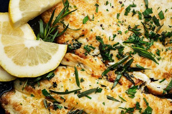 Flounder With Brown Butter, Lemon and Tarragon.jpg