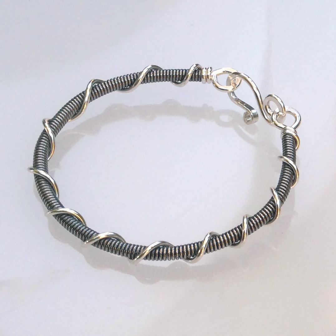 Blackened Vortex Bracelet