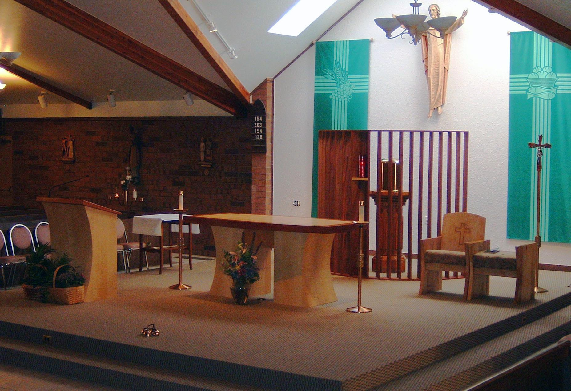 St. Therese Original Sanctuary