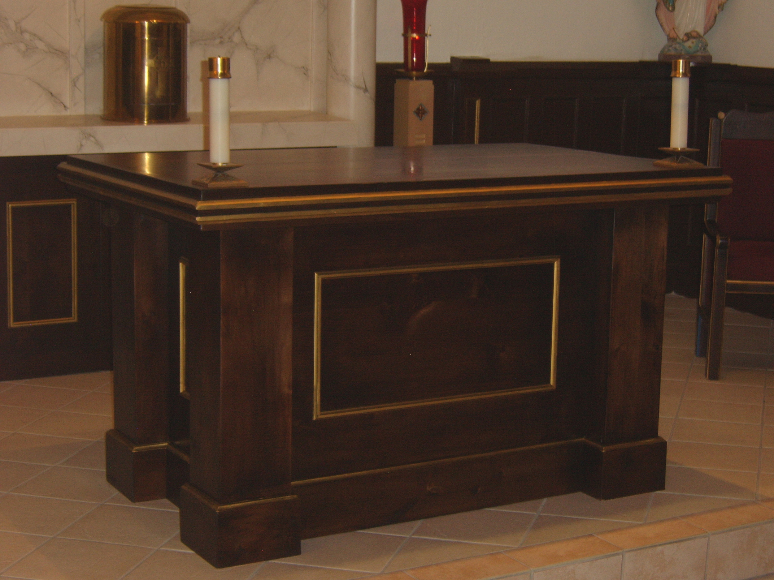 St. Therese Chapel Altar