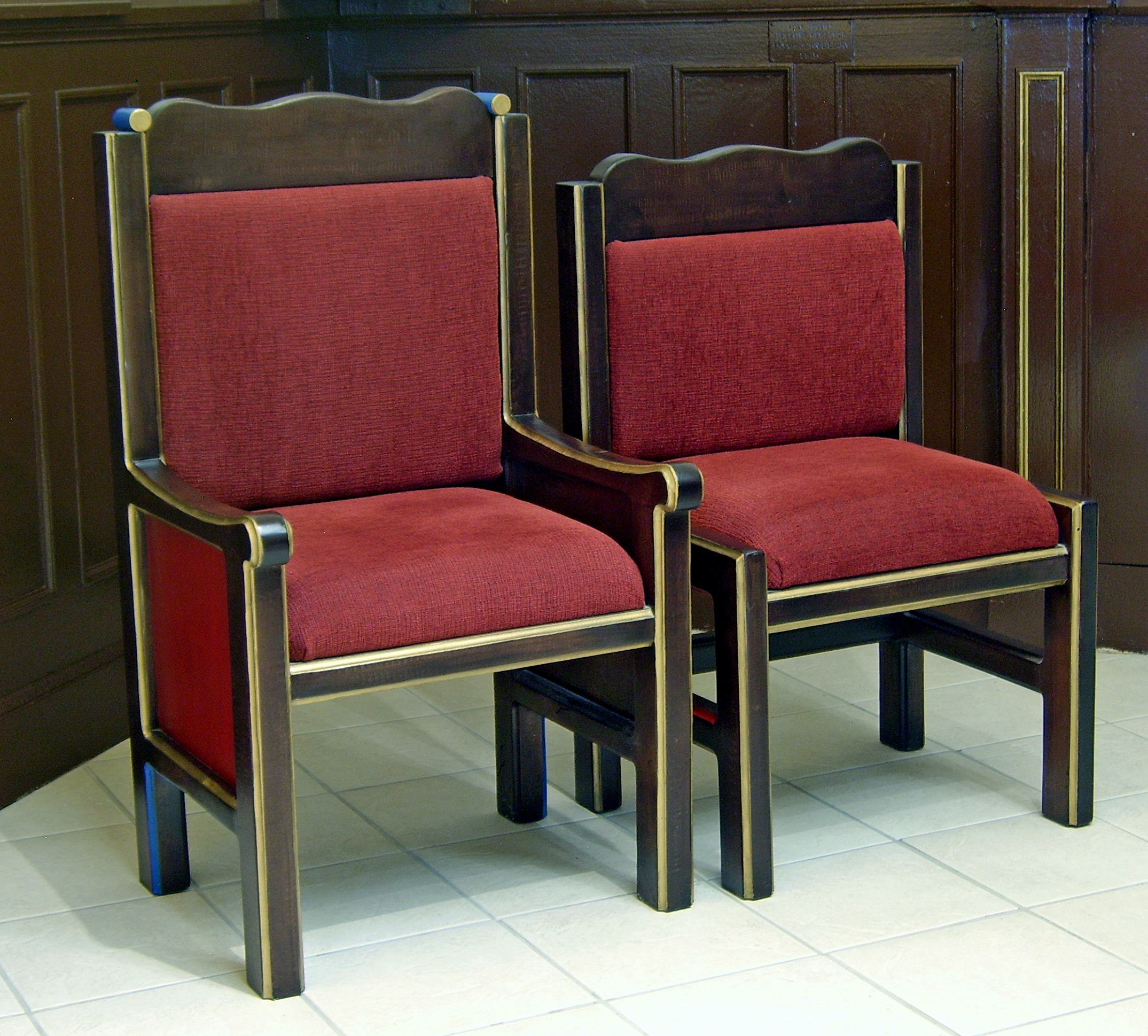 St. Therese Chapel Chairs