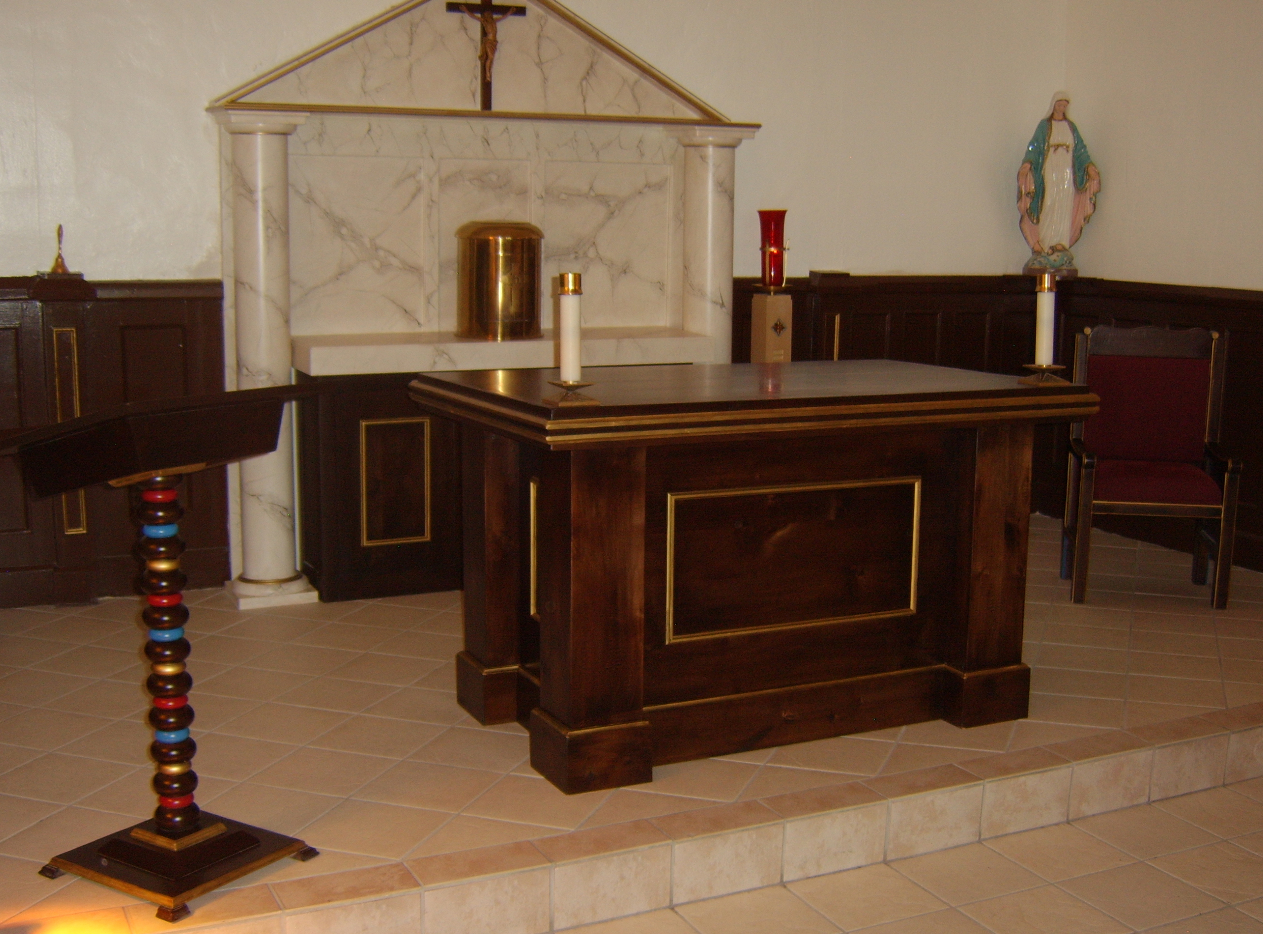 St. Therese Chapel Sanctuary