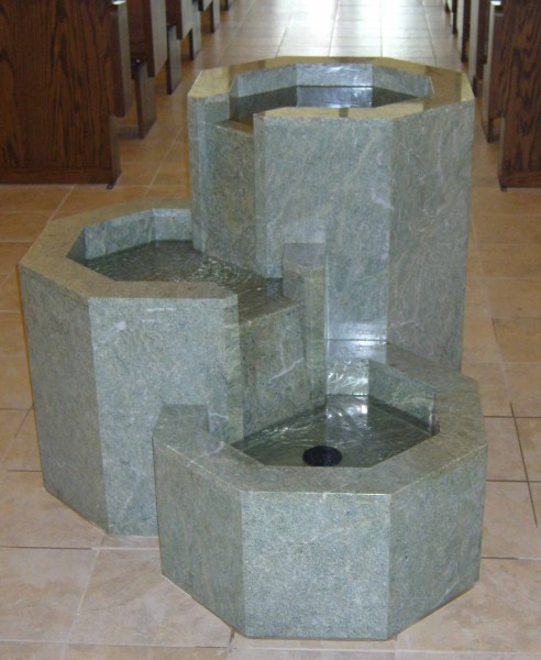 St. Therese Font 2
