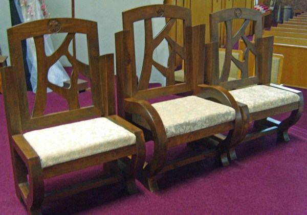 Holy Rosary Chairs