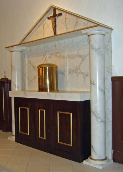 St. Therese Chapel Tabernacle Altar