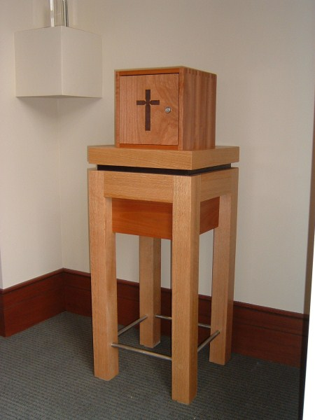 St. Catherine Tabernacle & Stand