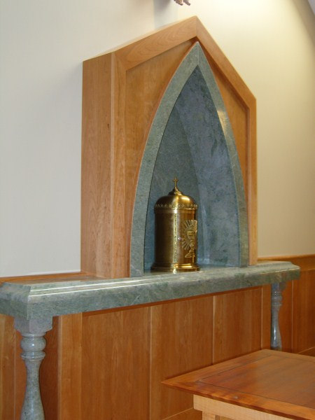 St. Therese Tabernacle Altar