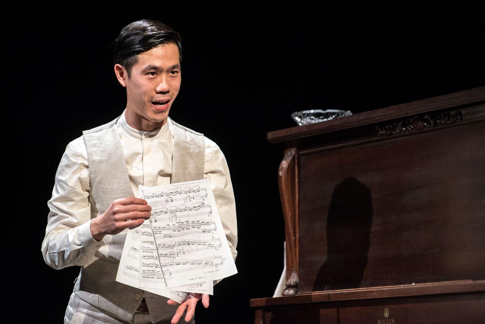 Jeff Ho in trace. Photo by Dahlia Katz