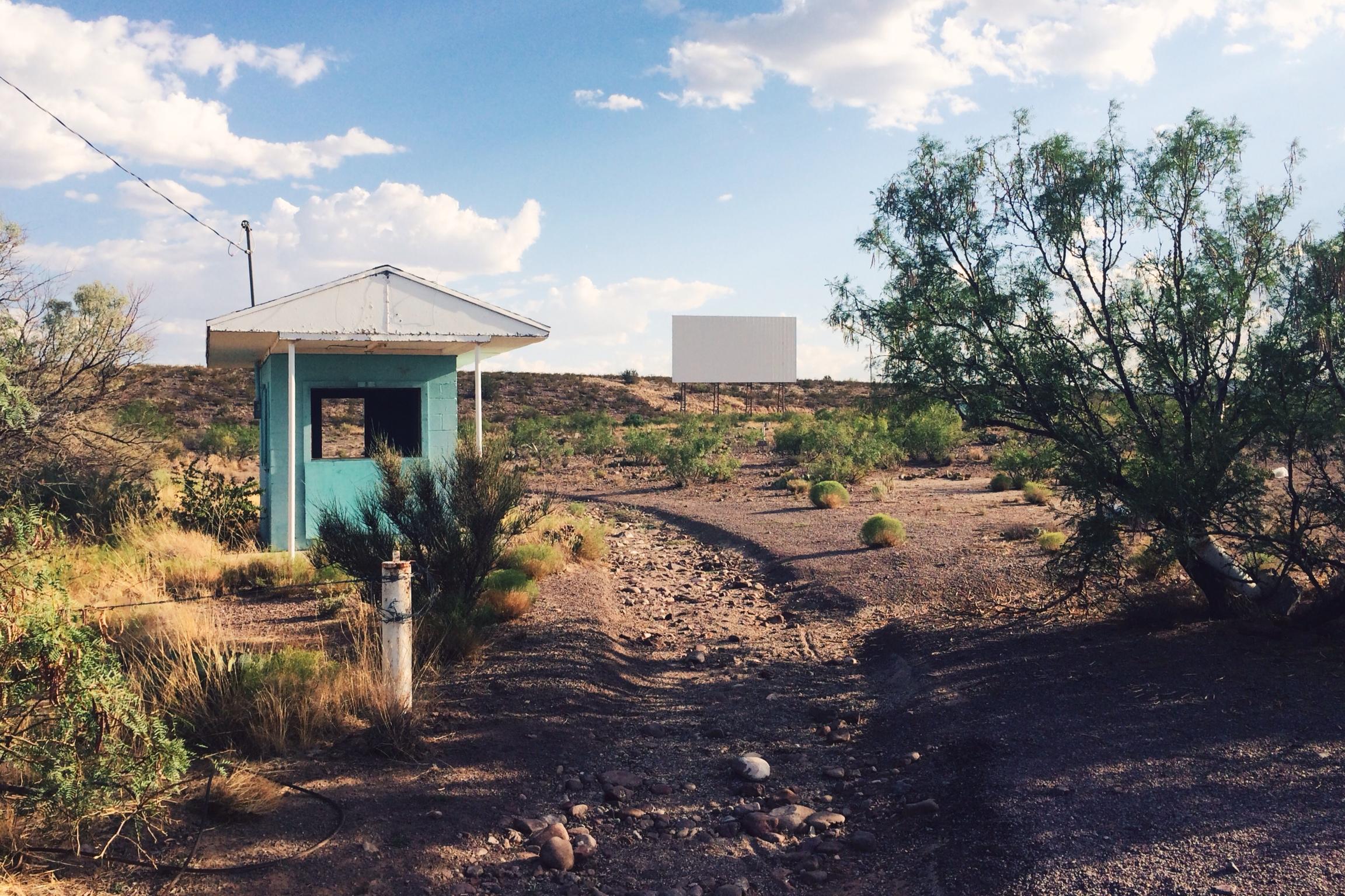 Abandoned Drive-In Socorro, NM