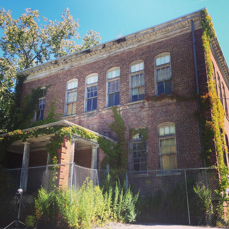 Abandoned school Newburgh, NY