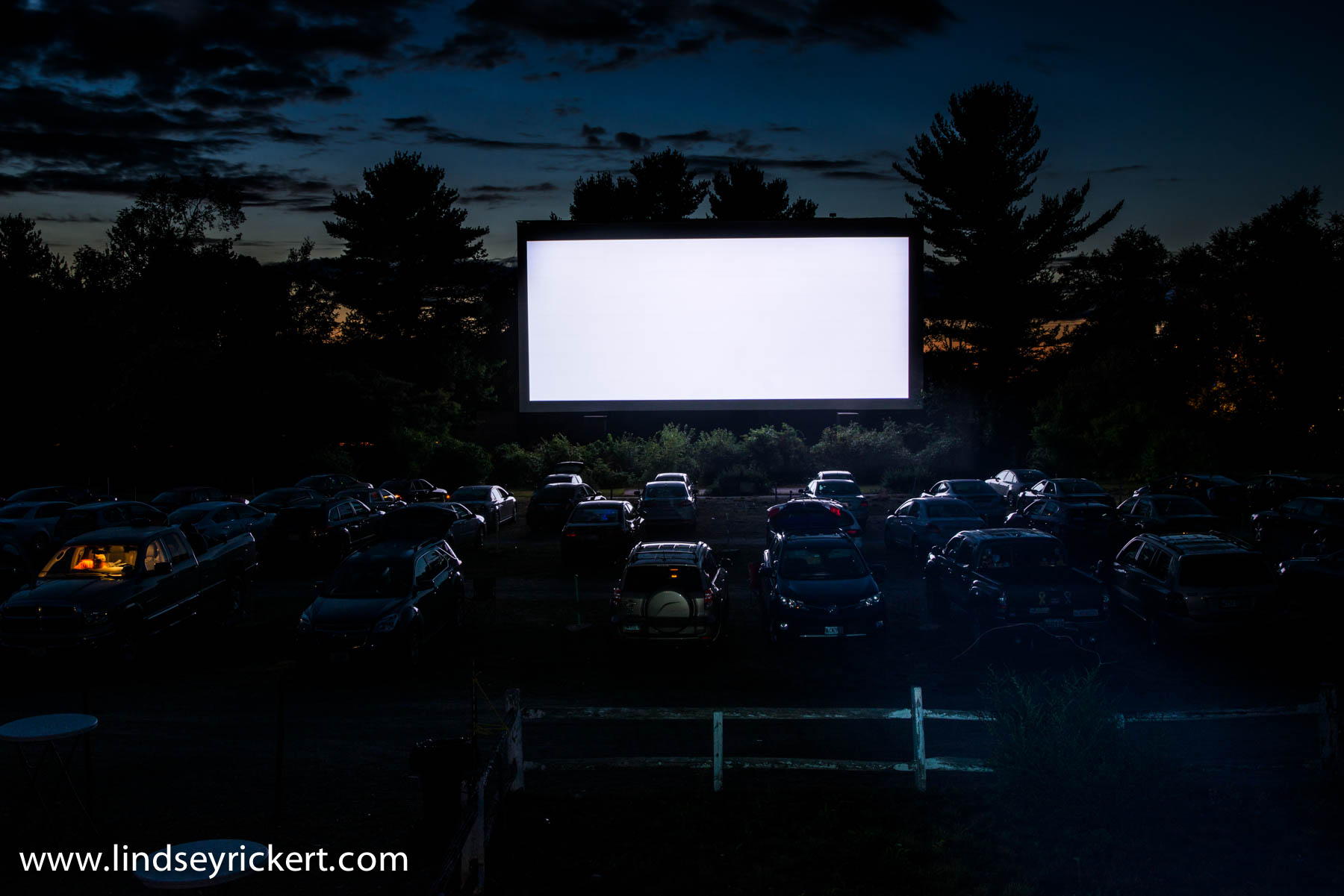 Saturday night at the  Saco Drive-In Theater .