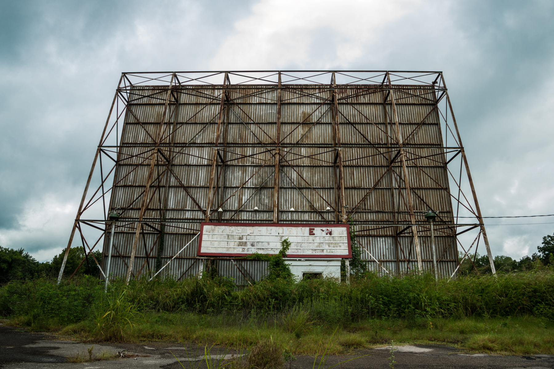 Abandoned TeePee Drive-In Sapulpa, OK