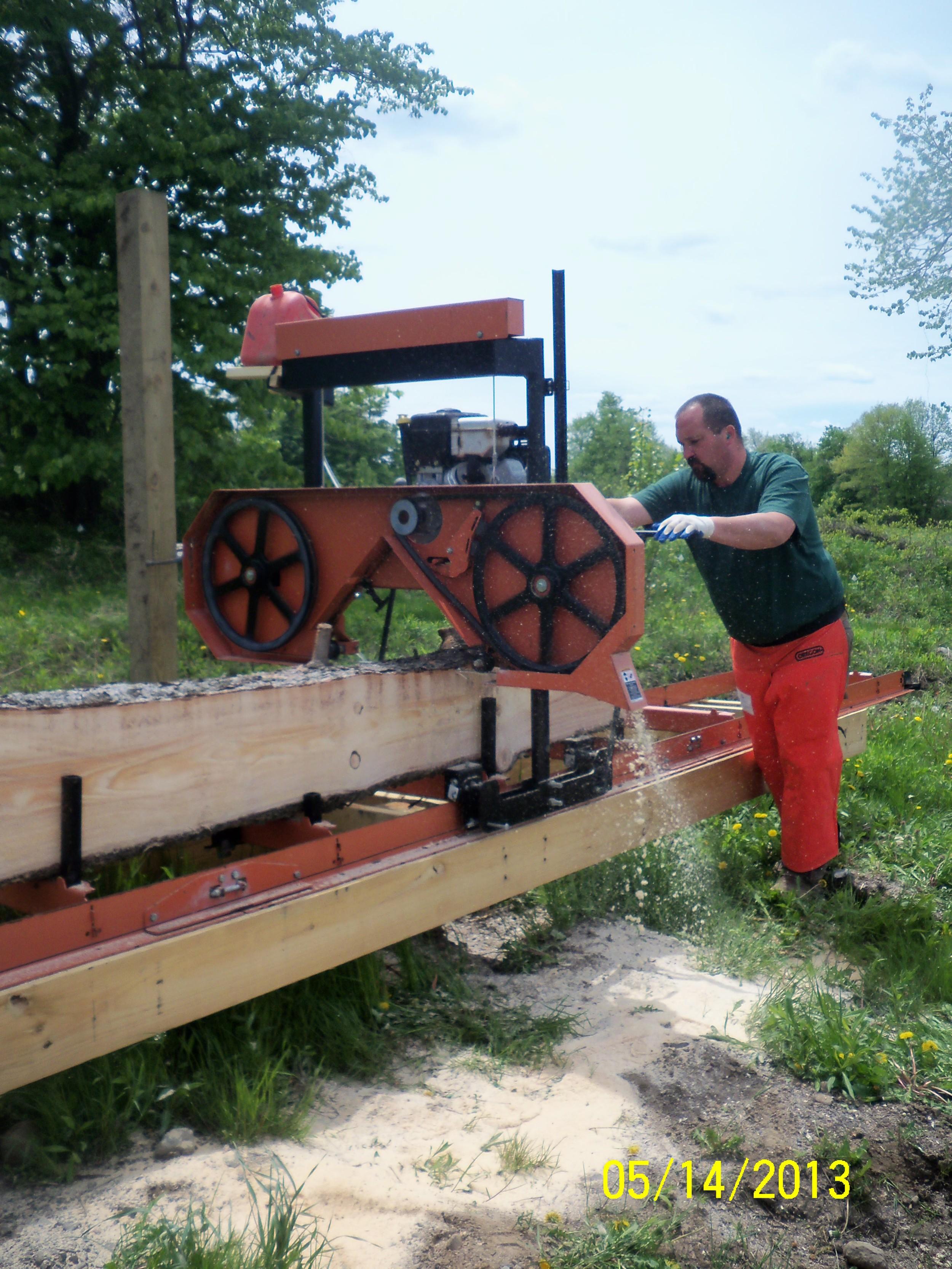 Wood-Mizer sawmill