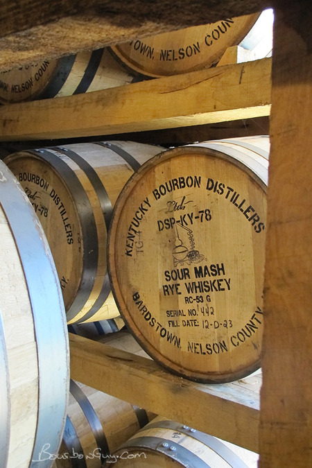 Tasty whiskey peacefully aging