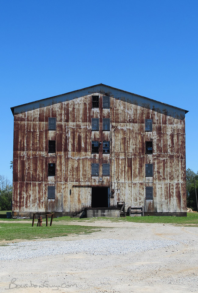 An aging aging warehouse (not a typo)