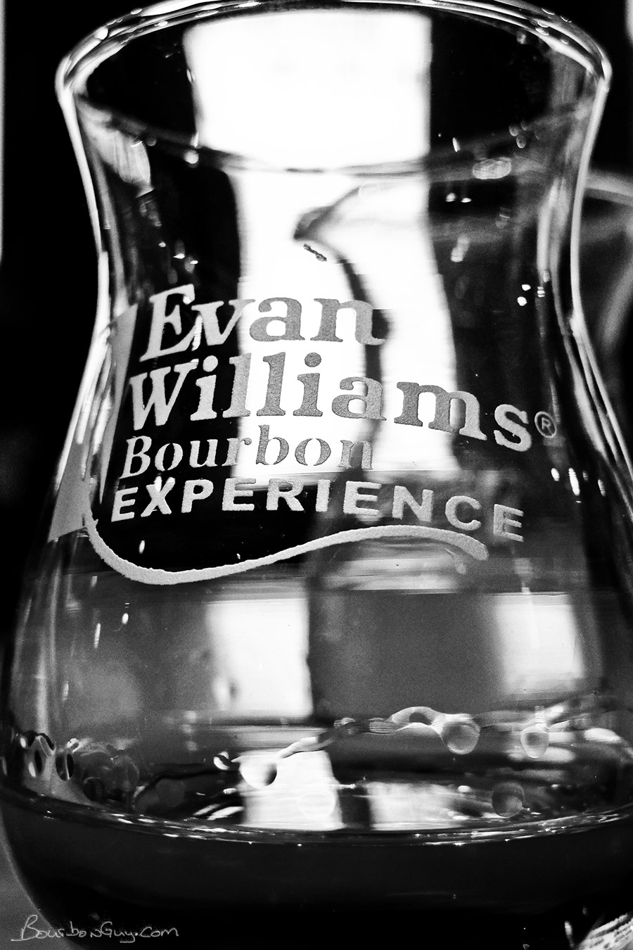 A little bourbon in the glass is a very nice way to end a wonderful  experience .