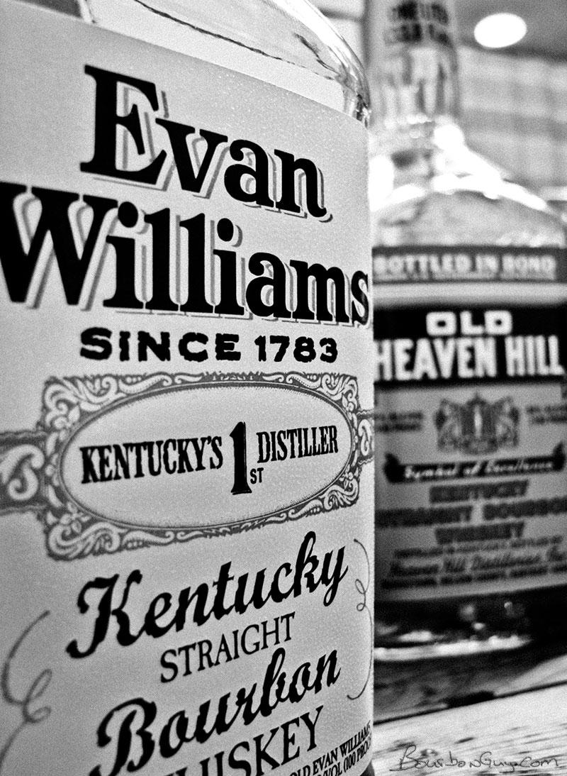 Evan Williams Bottled in Bond and Old Heaven Hill Bottled in Bond