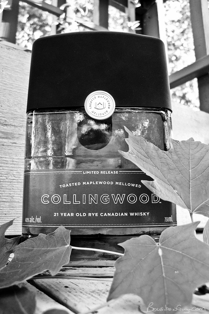 Collingwood 21 year old rye canadian whisky