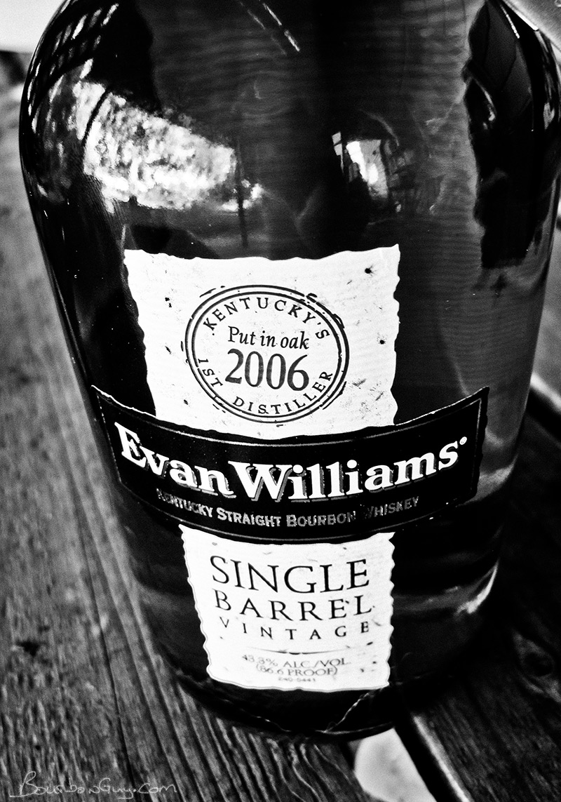 Evan Williams Single Barrel Vintage, 2006