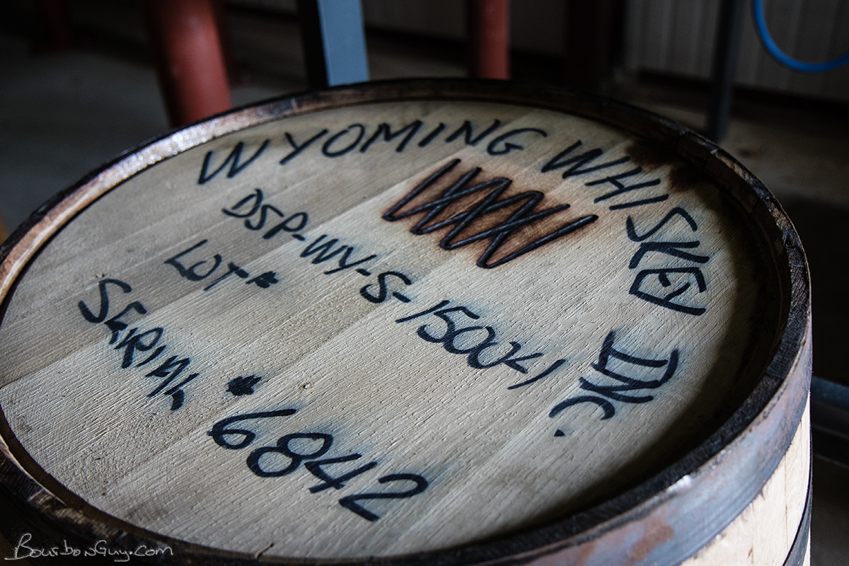 This empty barrel is waiting to be filled.