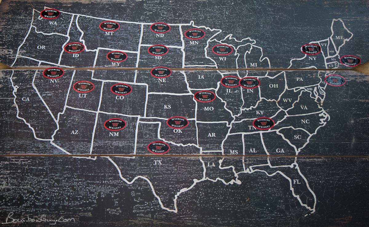 Wyoming Whiskey availability.