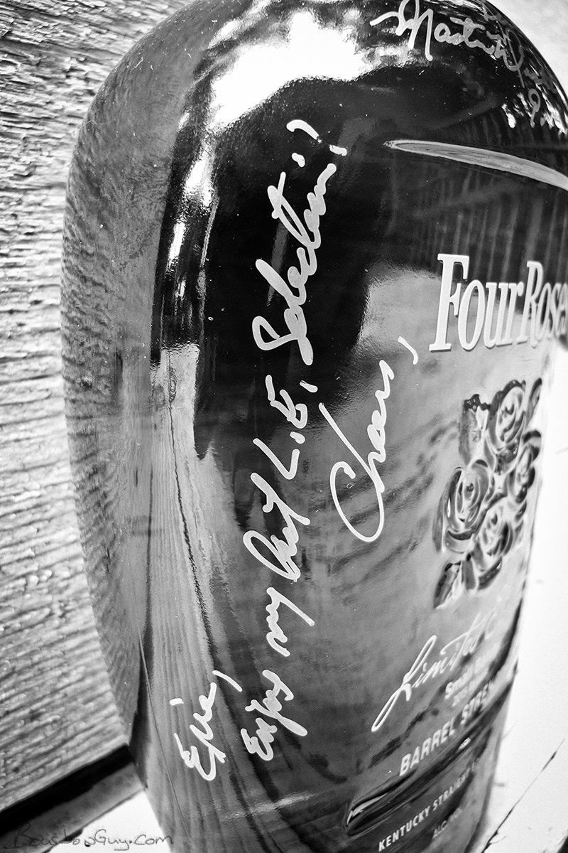 Mr. Rutledge's inscription