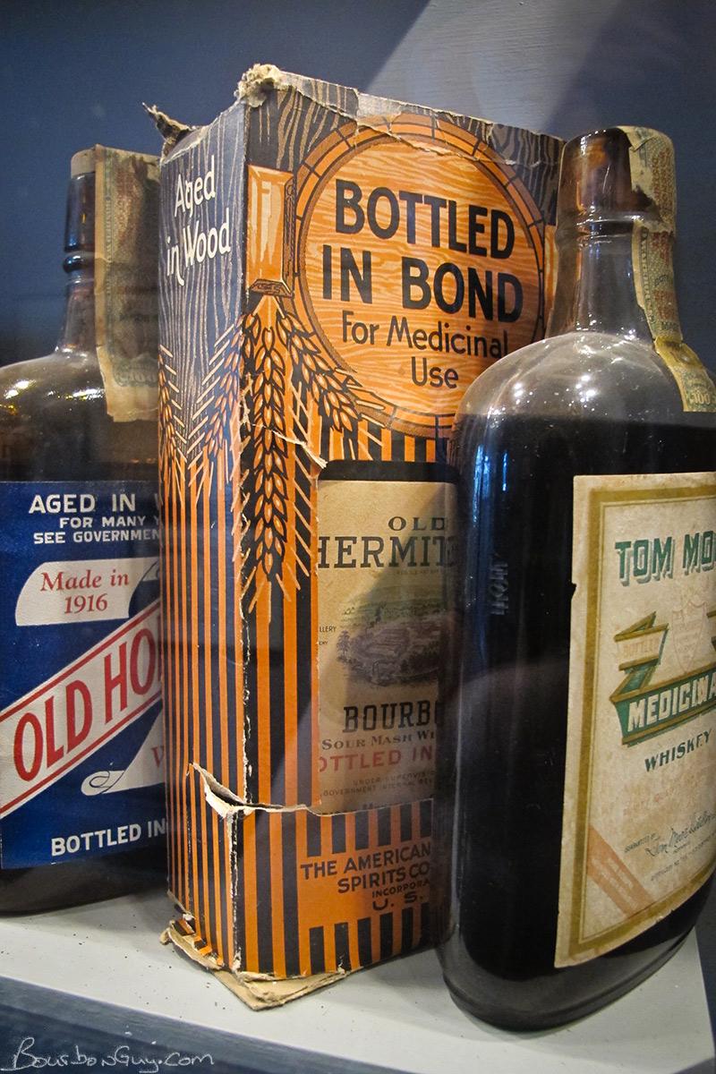 Prohobition-Era Medicinal Whiskey Bottles