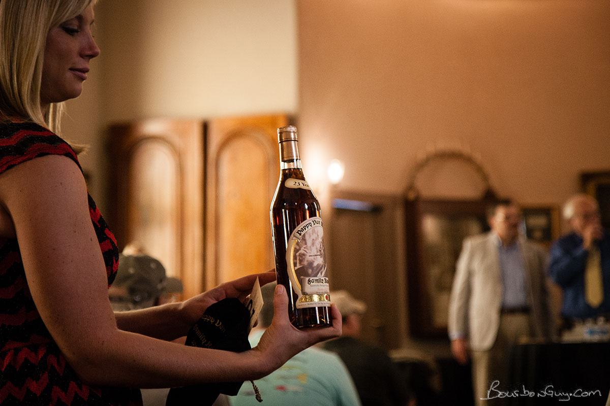 An image from the 2014 Master Distiller's Auction, it's Pappy.
