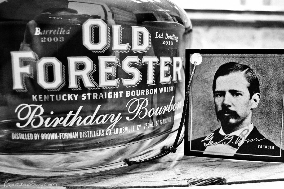 2015 Limited Release of Old Forester Birthday Bourbon