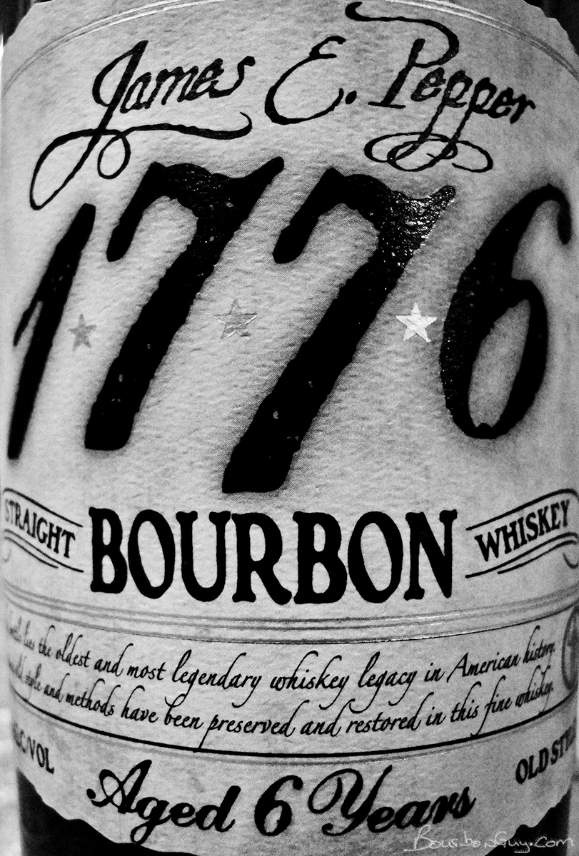 James E Pepper 1776 Bourbon