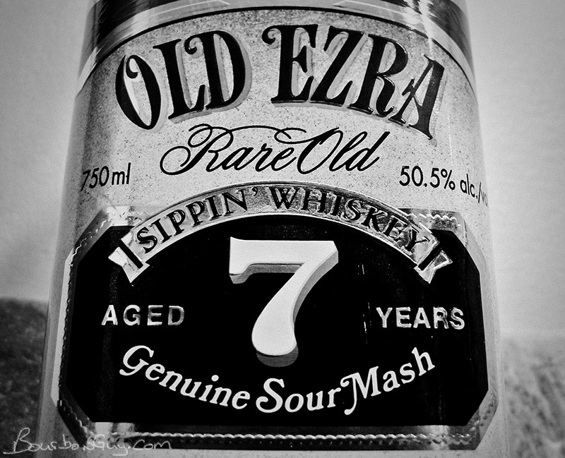 Old Ezra 7 year old 101 proof bourbon