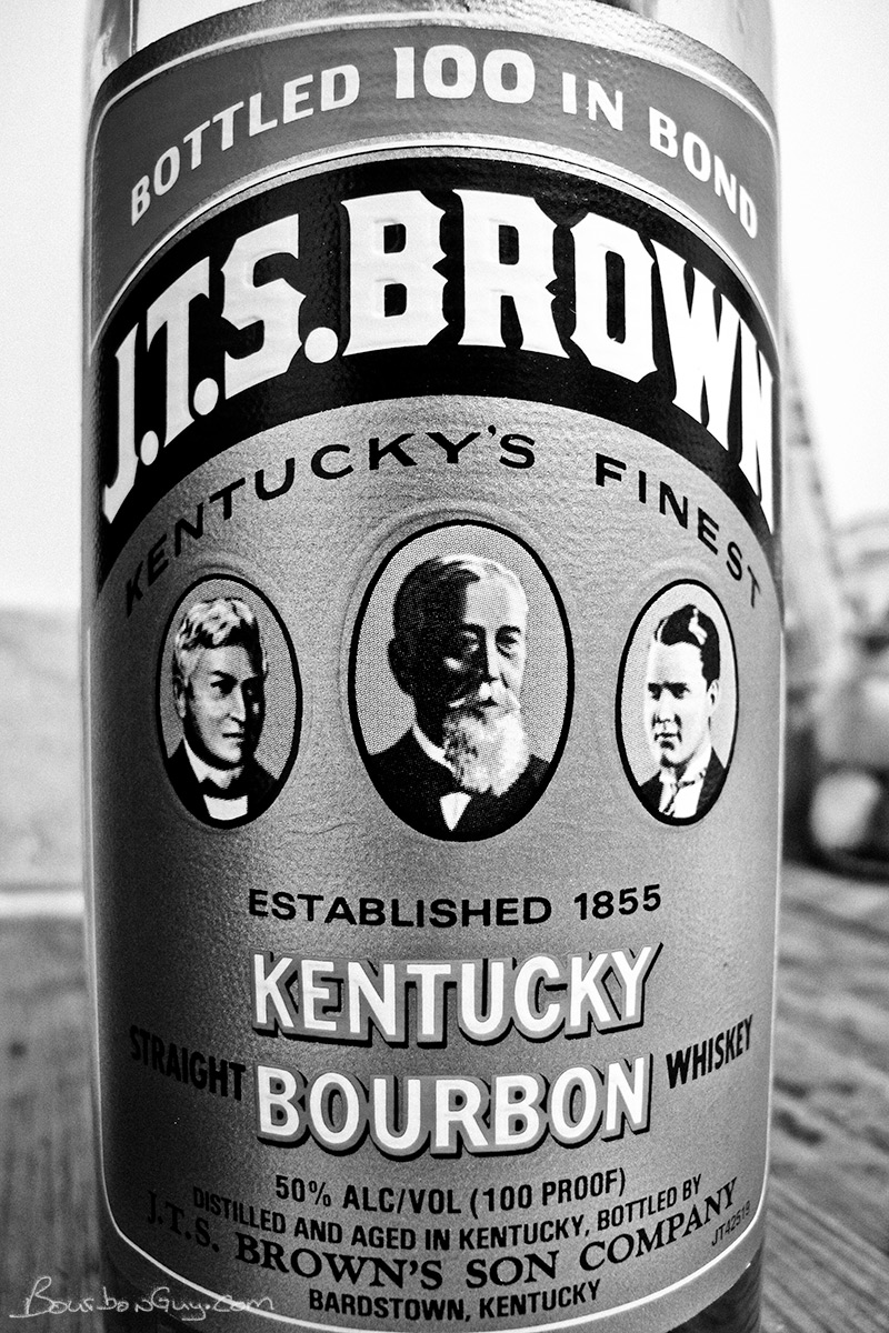 JTS Brown Bottled in Bond