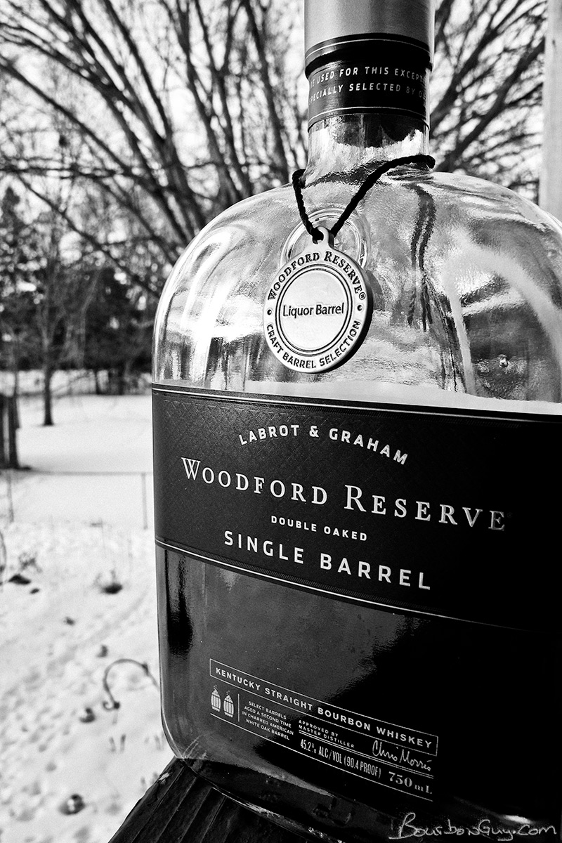Woodford Reserve Double Oaked Single Barrel from Viking Liquor Barrel