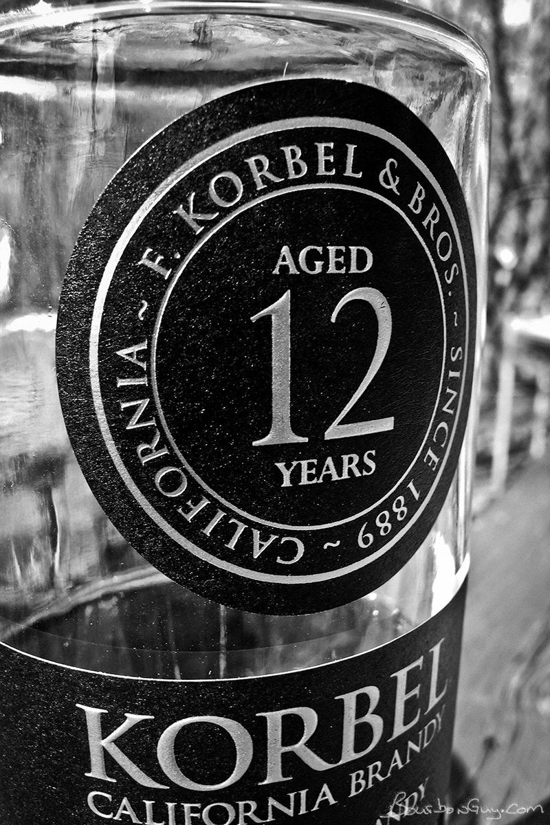 Korbel 12 year old California Brandy